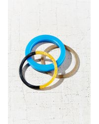 Urban Outfitters | Blue Sonya Pop Bangle Bracelet Set | Lyst