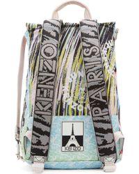 KENZO - Multicolor Peach Signature Prints Urban Backpack for Men - Lyst
