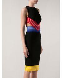 Christopher Kane - Black Cutaway Side Dress - Lyst
