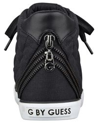 G by Guess   Black Ceeci Quilted High Top Sneakers   Lyst