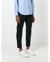 AALTO | Black Straight Leg Trousers | Lyst