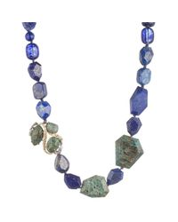 Alexis Bittar | Blue Chrysocolla And Lapis Necklace You Might Also Like | Lyst