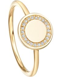 Astley Clarke | Metallic Cosmos 18Ct Gold And Diamond Ring - For Women | Lyst