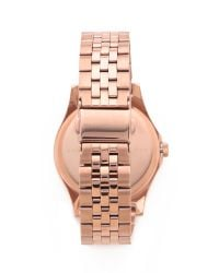 Marc By Marc Jacobs - Pink The Slim 36mm Watch - Lyst