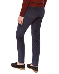 Jaeger - Blue Cordruroy Skinny Trousers - Lyst