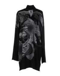 MM6 by Maison Martin Margiela - Black Sweater - Lyst