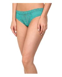 Natori | Green Feathers Hipster | Lyst