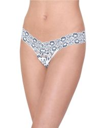 Hanky Panky | Black Cross Dye Low Rise Thong | Lyst
