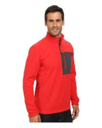 The North Face | Red Tech 100 1/2 Zip for Men | Lyst