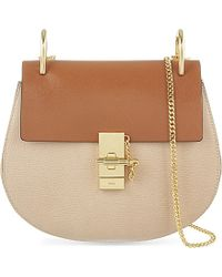 Chloé | Natural Drew Small Leather Cross-Body Bag | Lyst