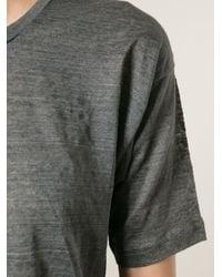 Isabel Marant - Gray 'Maddox' T-Shirt - Lyst