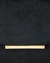 Ted Baker - Black Parallel Bars Exotic Handbag - Lyst