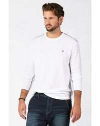 True Religion | White Military Mens Thermal for Men | Lyst