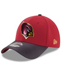 KTZ - Red Arizona Cardinals Gold Collection On-field 39thirty Cap for Men - Lyst