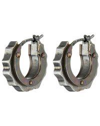 Bottega Veneta | Metallic Earring 362073 | Lyst