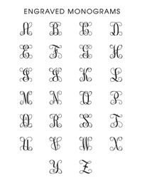 BaubleBar | Metallic Engraved Monogram Bracelet  | Lyst