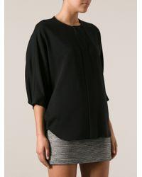Alexander Wang | Black Mondrian Shift Dress | Lyst