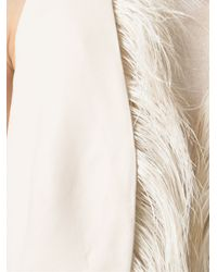Brunello Cucinelli - Natural Feathered Waistcoat - Lyst