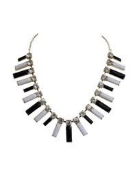 Ziba | White Theoline Necklace | Lyst