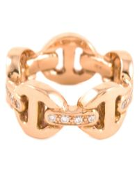 Hoorsenbuhs | Metallic Tri-link Ring | Lyst