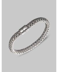 John Hardy | Metallic Kali Sterling Silver Medium Chain Bracelet | Lyst
