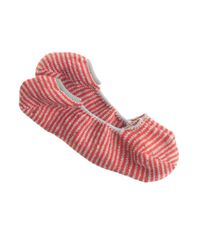 J.Crew - Red Anonymous Ism Striped Loafer Socks for Men - Lyst