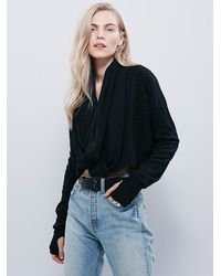 Free People | Black Nicholas K Womens Zella Sweater | Lyst