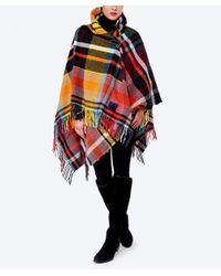 Vivienne Westwood | Orange Tartan Cape | Lyst