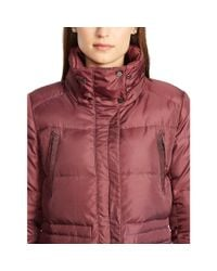 Ralph Lauren - Purple Removable-hood Down Coat - Lyst