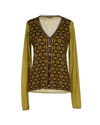 Maliparmi - Brown Cardigan - Lyst