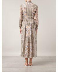 Saint Laurent | Multicolor 'Bohéme' Dress | Lyst
