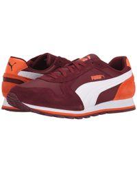 PUMA | Red St Runner Nl for Men | Lyst