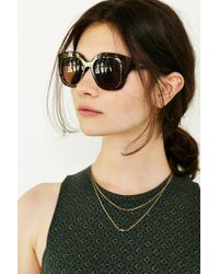Quay | Brown Monroe Sunglasses | Lyst