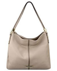 Anne Klein | Gray Kick Start Four-poster Shopper | Lyst