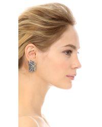Lulu Frost | Metallic Larkspark Stud Earrings | Lyst