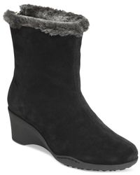 Aerosoles - Black Attorney Cold Weather Boots - Lyst