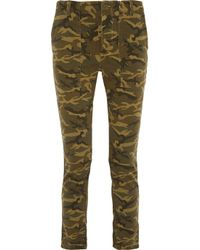 NLST - Green Boyfriend Low-Rise Stretch-Denim Jeans - Lyst