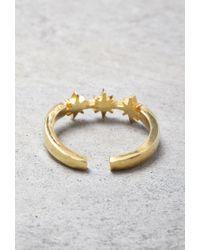 Forever 21 | Metallic Makko Starlet Midi Ring | Lyst