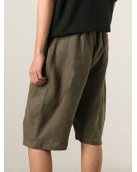 Societe Anonyme - Brown Balloon Shorts - Lyst