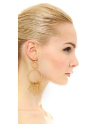 Aurelie Bidermann - Metallic Marisa Small Pendant Earrings - Lyst