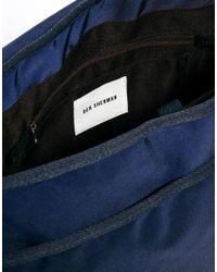 Ben Sherman | Blue Messenger Bag for Men | Lyst