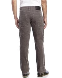 Billabong - Gray Straight Fifty Corduroy Pants for Men - Lyst