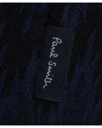 Paul Smith - Blue Navy Zig Zag Cotton T-shirt for Men - Lyst