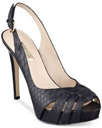 Guess - Black Haben2 Platform Pumps - Lyst