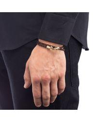 Lulu Frost - Brown Leverage Wrap Bracelet - Lyst