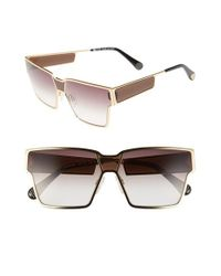 Ill.i by Will.i.am | Metallic 'wa505s' 64mm Sunglasses | Lyst