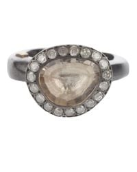 Rosa Maria | Metallic Silver Treated Ring | Lyst