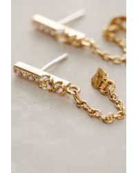 Elizabeth and James | Metallic Kiki Stud Earrings | Lyst