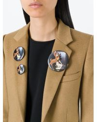 Givenchy | Multicolor Bambi Print Badges | Lyst