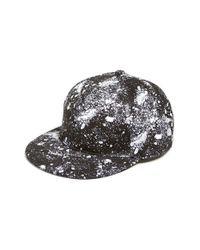 ELEVEN PARIS - Black 'pight' Print Snapback Cap for Men - Lyst